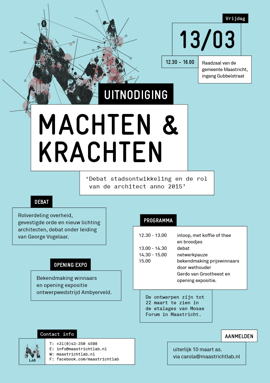 Uitnodiging Maastricht-LAB debat