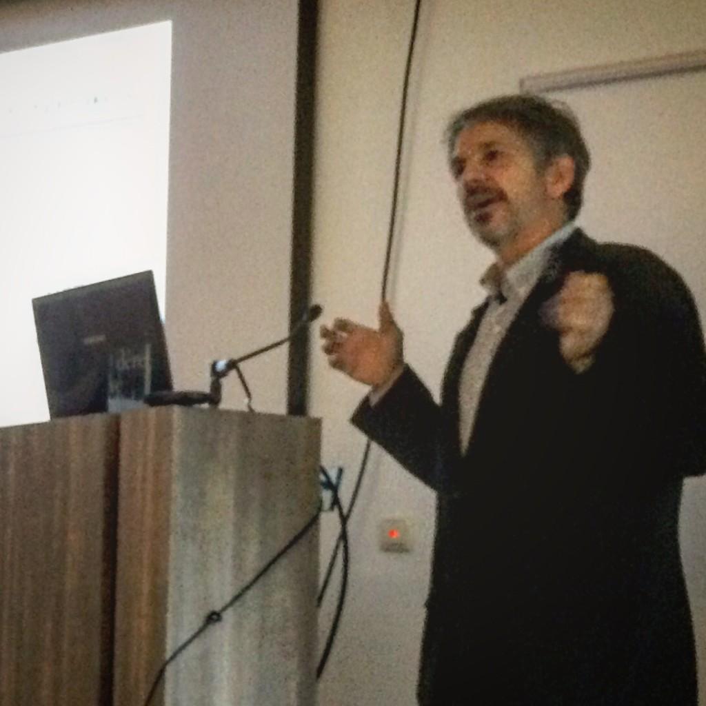 Robert Katzenson op de Stadmakerslunch van Maatricht-LAB